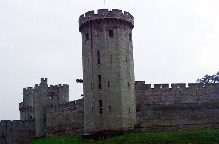 Wawrick castle. Great Britain.