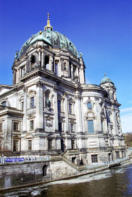 Berliner Dom (Berlin Cathedral), the court church of the Hohenzoller Dynasty. Berlin. Germany.