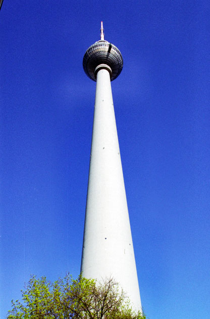 TV tower at Alexanderplatz. Berlin. Germany.