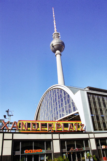 Alexanderplatz. Berlin. Germany.