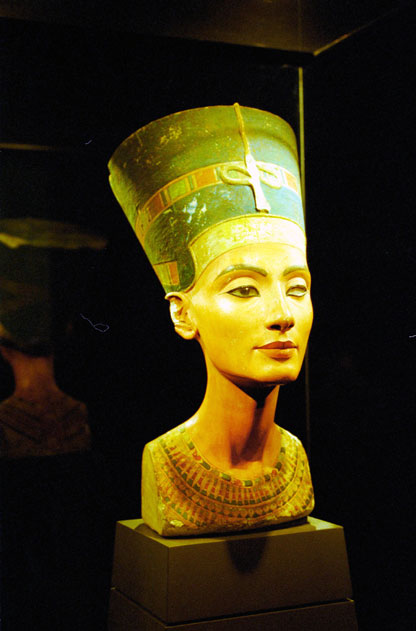 Queen Nefertiti. Agyptisches museum. Berlin. Germany.