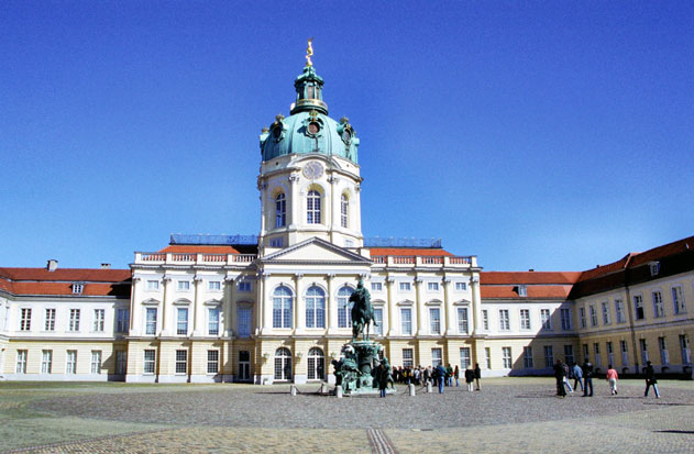 Schloss Charlottenburg (Charlottenburg Palace). Berlin. Germany.