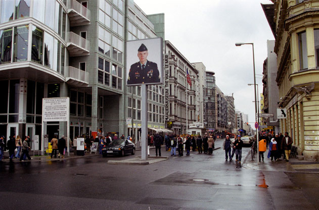 Checkpoint Charlie. Berlin. Germany.