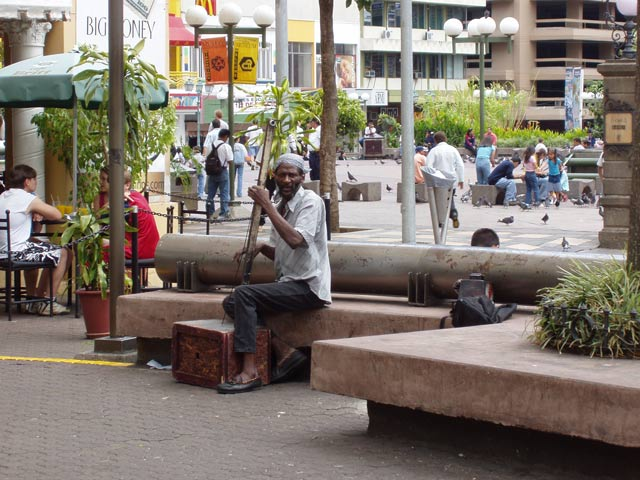 Street life at San Jose. Costa Rica.