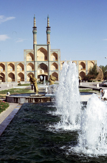Amir Chakhmaq Mosque at Yazd town. Iran.