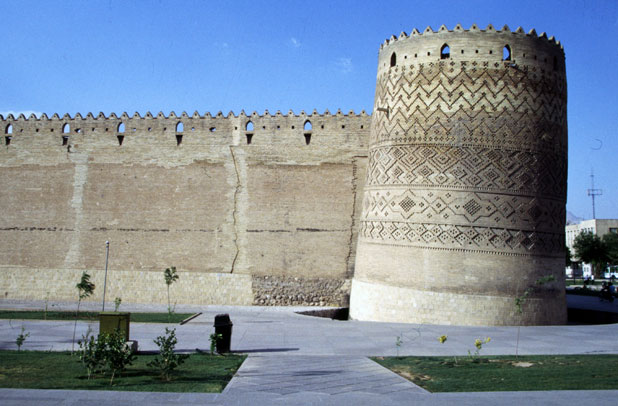 Fortress Arg-e Karim Khani at town Shiraz. Iran.