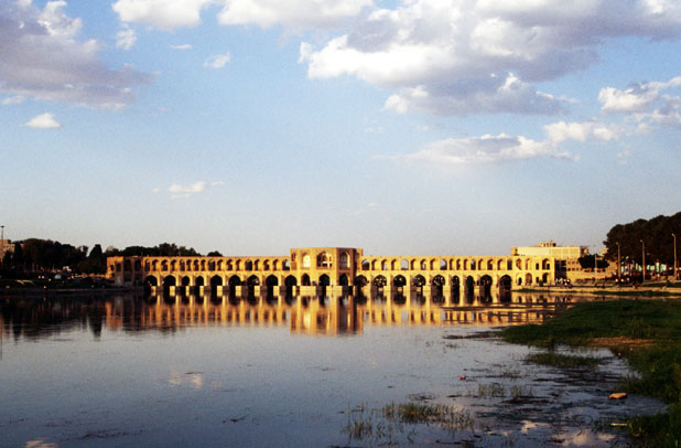 Khaju bridge. Esfahan. Iran.