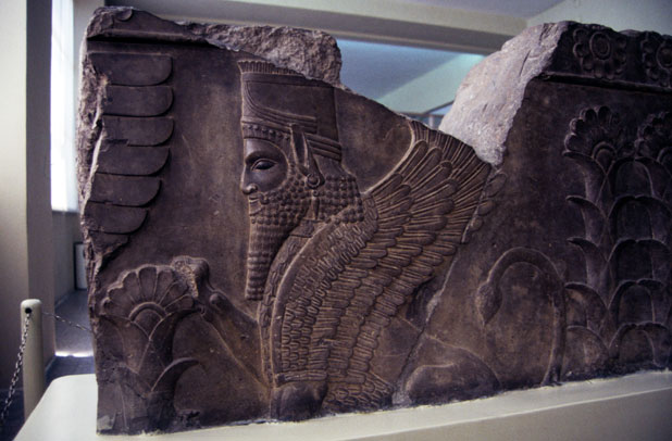 Persepolis find. National museum of Iran. Tehran. Iran.