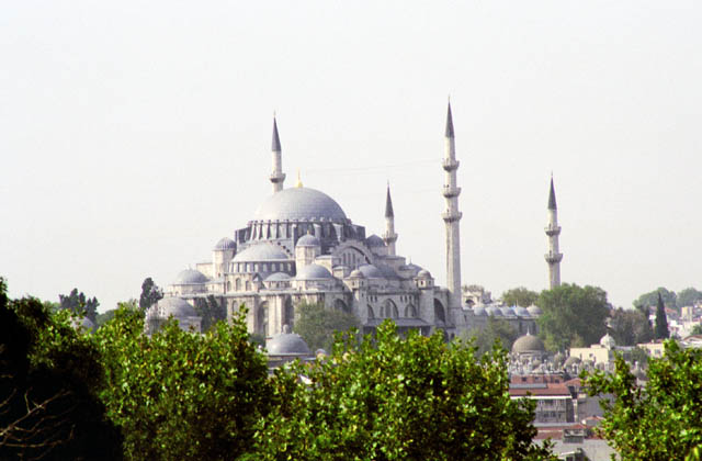 Blue Mosque, Istanbul. Turkey.