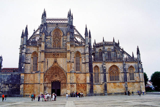 The Monastery of Batalha. Portugal.