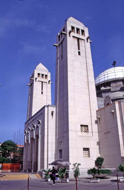 Christian cathedral, Dakar. Senegal.