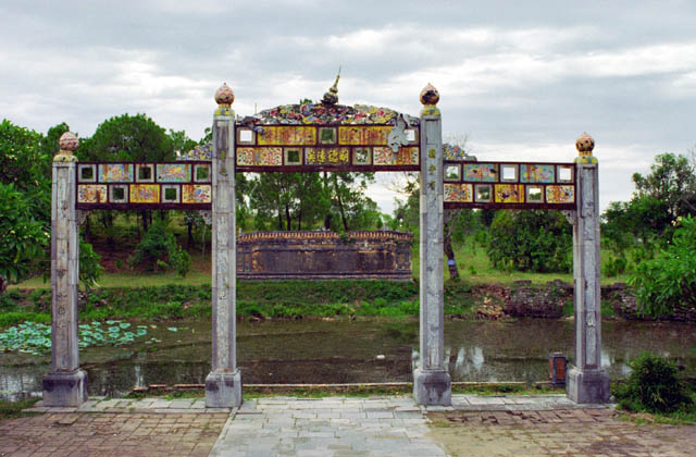 Tomb of Thieu Tri. Hue town. Vietnam.