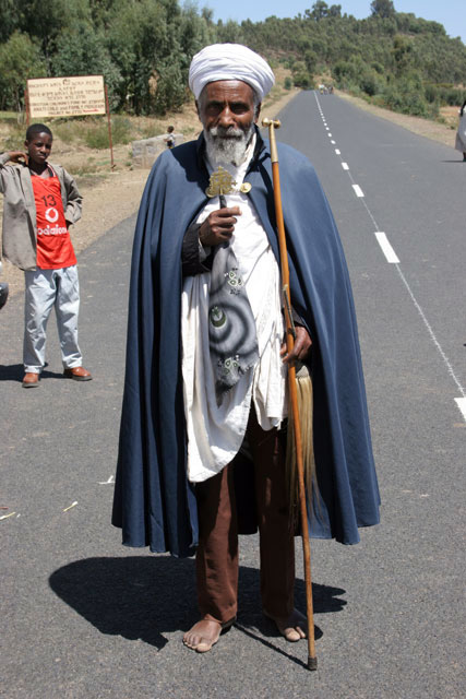 Priest, south of Addis Abbeba. South,  Ethiopia.