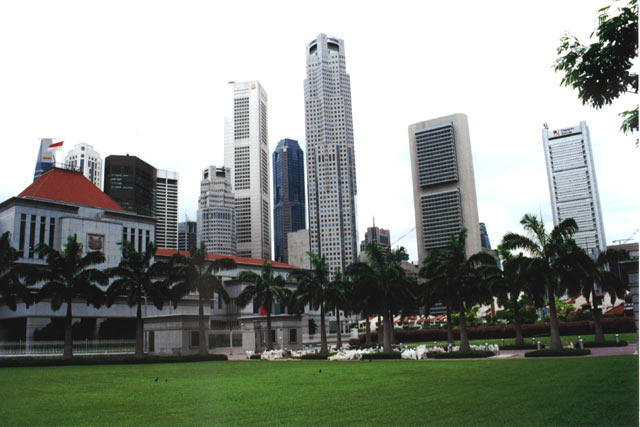 Around parliment. Singapore.