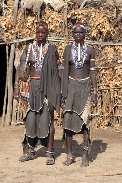 Arbore women. South,  Ethiopia.