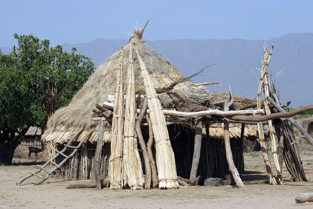 Arbore village. South,  Ethiopia.