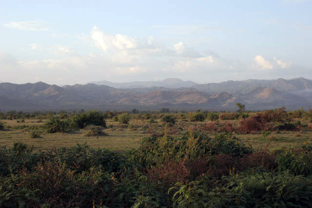 Landscape near Arba Minch. South,  Ethiopia.