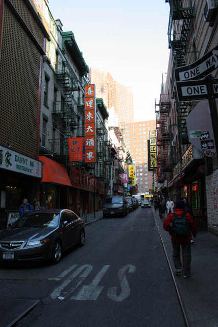 Chinatown, Manhattan, New York. United States of America.