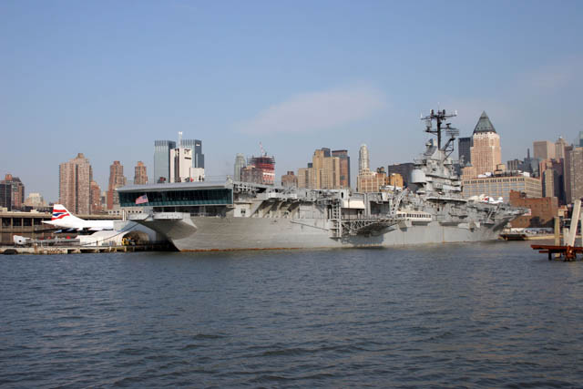 Intrepid Air & space Museum, Manhattan, New York. United States of America.