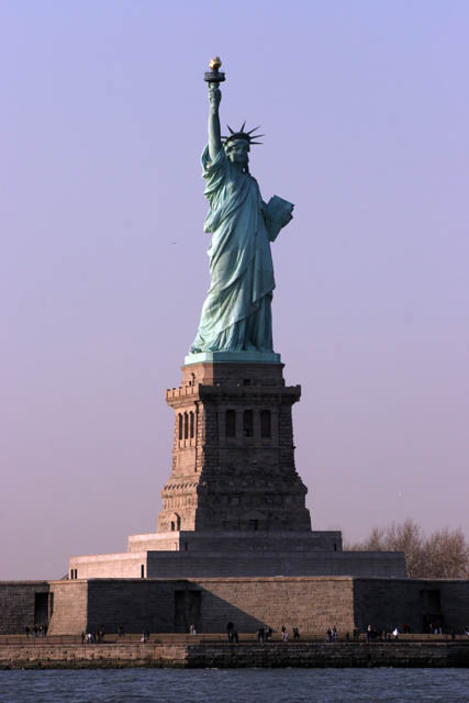 Statue of Liberty, New York. United States of America.