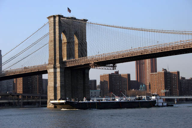Brooklyn Bridge, Manhattan, New York. United States of America.