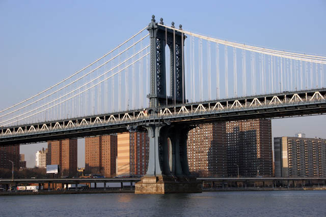Manhattan Bridge, New York. United States of America.