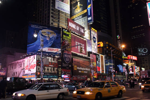 Times Square, Manhattan, New York. United States of America.