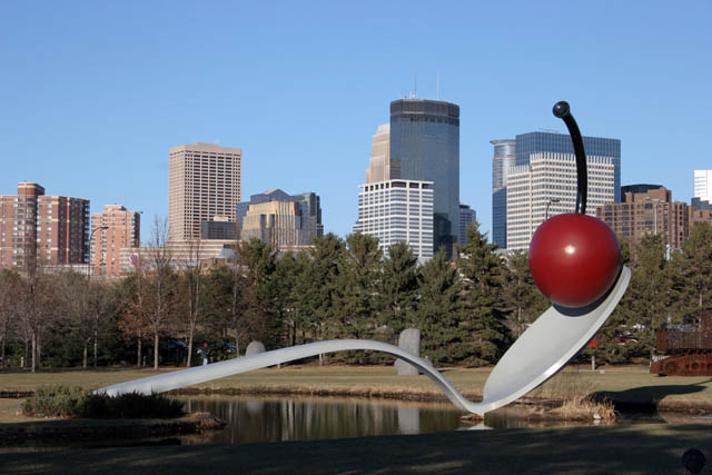 Minneapolis Sculpture Garden, Minnesota. United States of America.