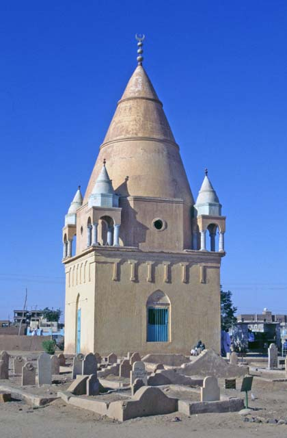 Hamed-an Nil Mosque. Khartoum (Omdurman). Sudan.