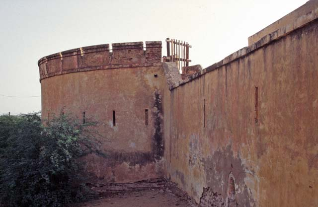 Old french fortress, Podor. Senegal.