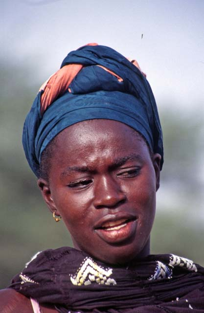 Local woman, Podor. Senegal.