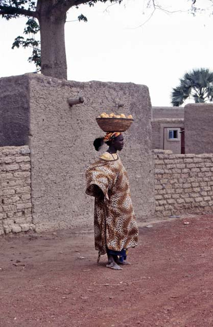 Local woman at small village. Mali.