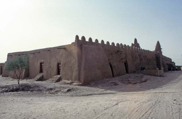 Mosque Dyingerey Ber at legendary town Timbuktu (Tombouctou). Mali.