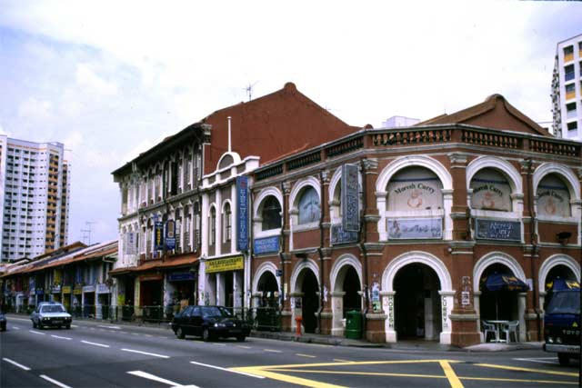 Colonial architecture. Singapore.