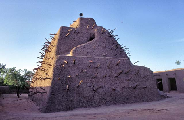 Tomb of Askia. Gao town. Mali.