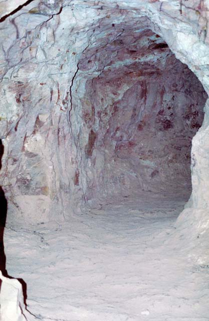 Underground house at old opal mine. Coober Pedy. Australia.