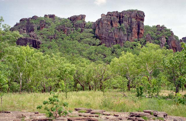 Nourlangie Rock in Kakadu National Park. Australia.