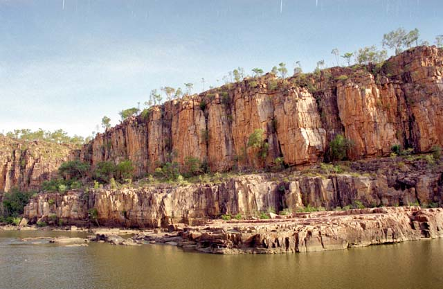Katherine Gorge at Northern Territory. Australia.