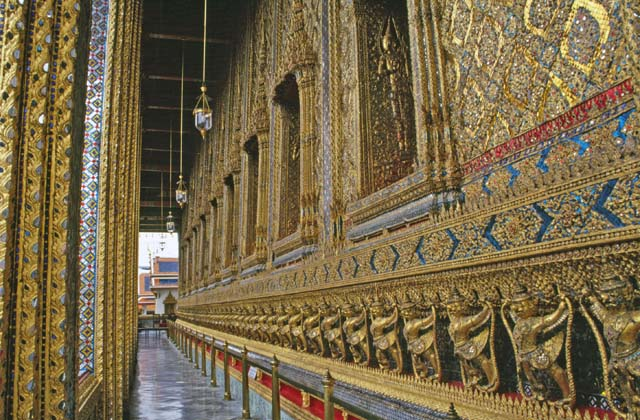 Royal palace in Bangkok. Thailand.