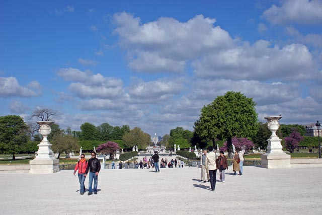 Jardin des Tuileries, Paris. France.