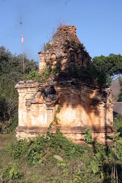 Old stupas at villages around Inle Lake. Myanmar (Burma).