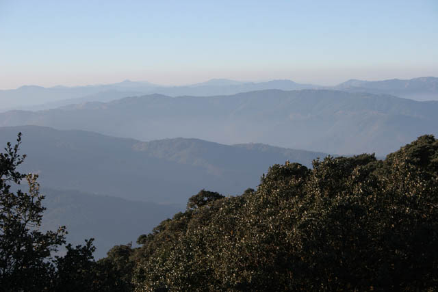 View from the top of Mt. Victoria. Chin State. Myanmar (Burma).