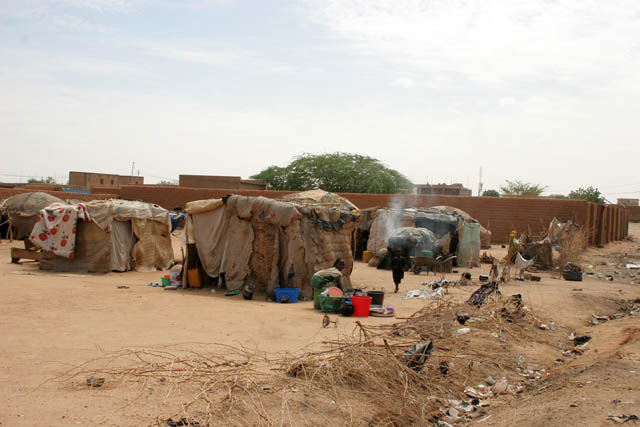 Nomads living at outskirts of Agadez town. Niger.
