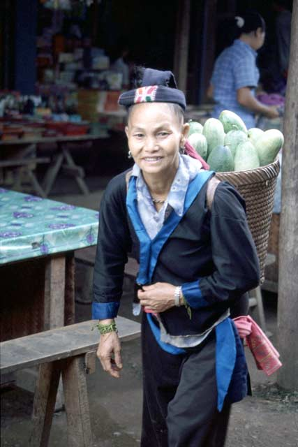 Market in Udomxai. Laos.