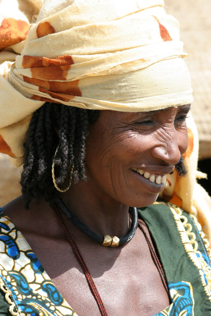 Woman from Bororo nomad ethnic. Lake Chad area. Cameroon.