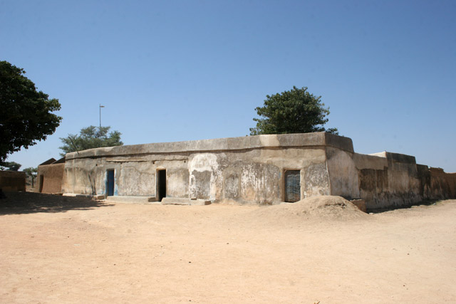 Chefferie (chiefdom) is typical example of local traditional architecture. Village Mabas, Mandara mountains. Nigeria.