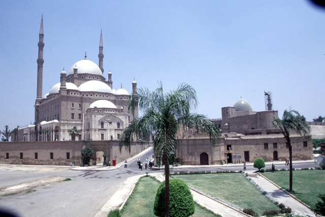 Mosque of Mohammed Ali in the Citadel. Egypt.