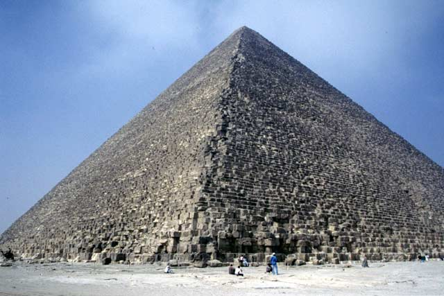 Great Pyramid of Cheops. Egypt.