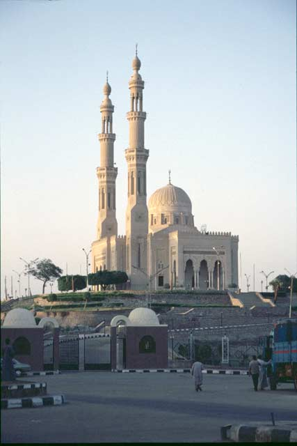 Mosque in Aswan. Egypt.