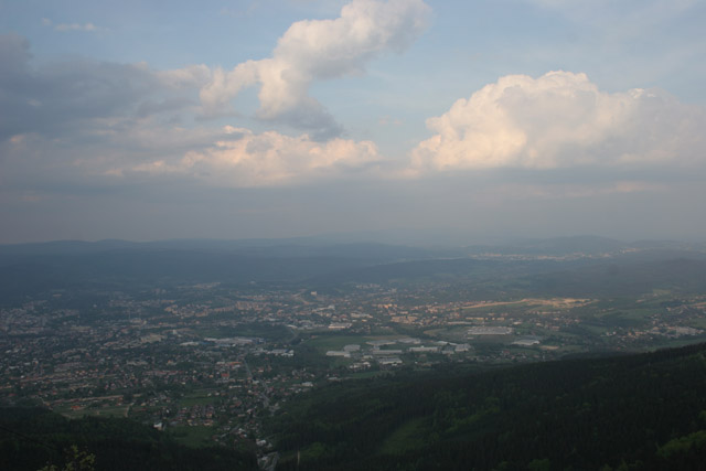 View from Jested. Czech Republic.
